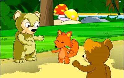 熊二发现神奇的蘑菇