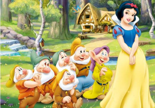 白雪公主和七个小矮人的故事