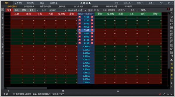 天风掌权者股票期权交易系统